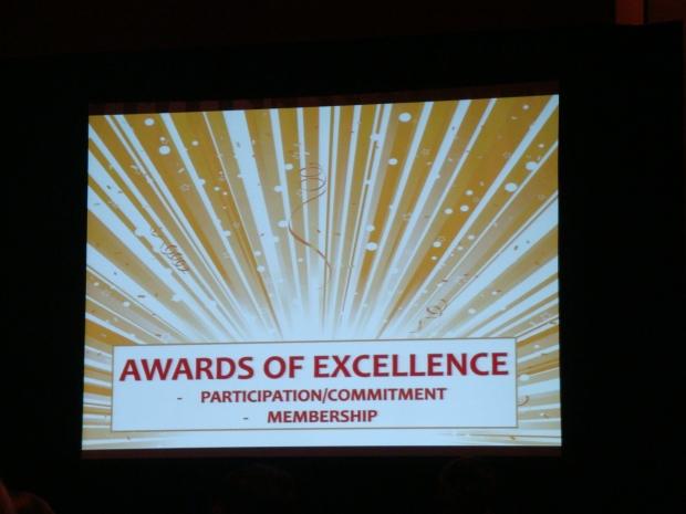 Award Excellence Participation Bernie 2013