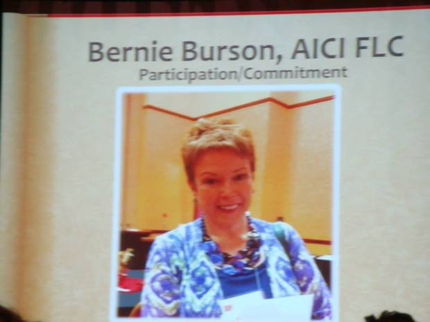 Bernie on slide 2013