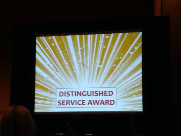 Disting Service Award Coralyn 2013 2