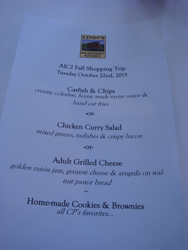 st.helena Oct 13 menu