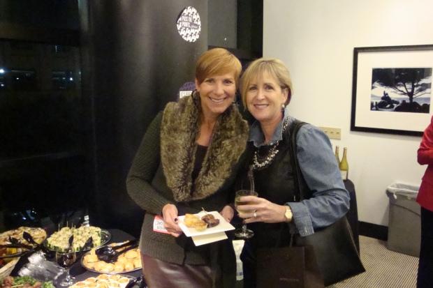 Maureen and Carolyn