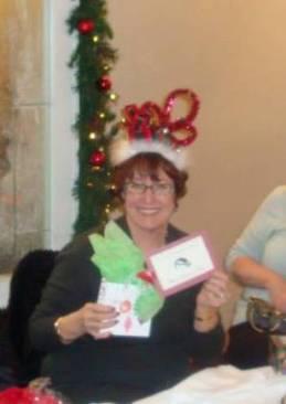 Carolyn Woodworth's topper won Most Festive