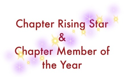 Chapter Awards word collage