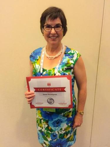 SusanH President's Award